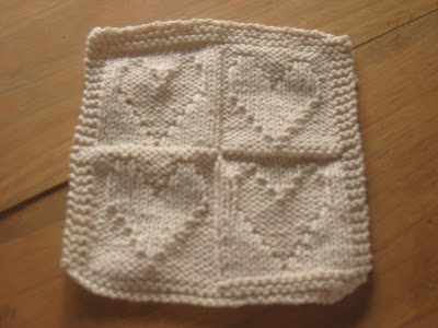 The Country Blossom Knitting Finishes