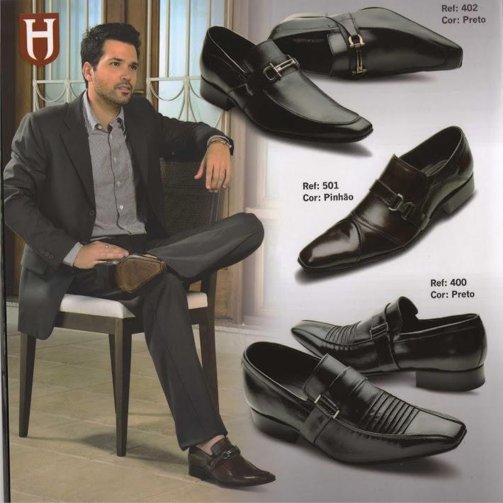 Sapato Solado em Couro ( R$ 145, 00 )
