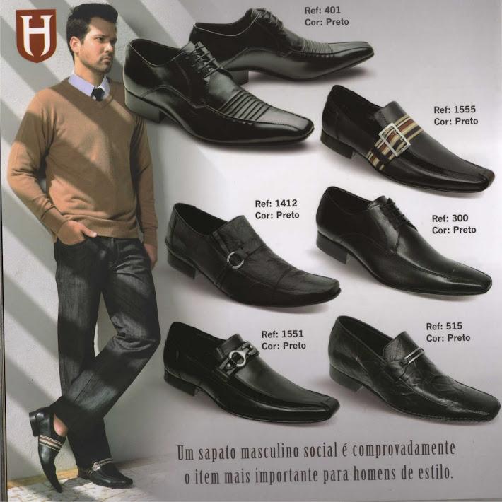 Sapato  Solado em Couro ( R$ 148,00 )