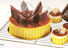 torta chocolate com pistache