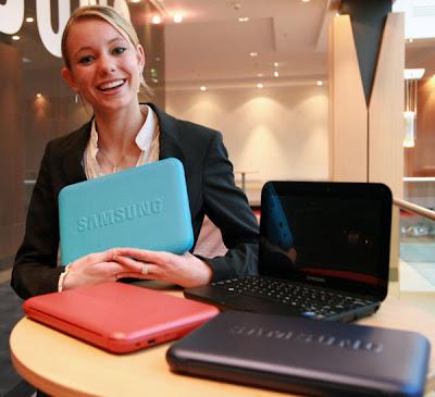 Netbook Samsung com bateria para 11hs.