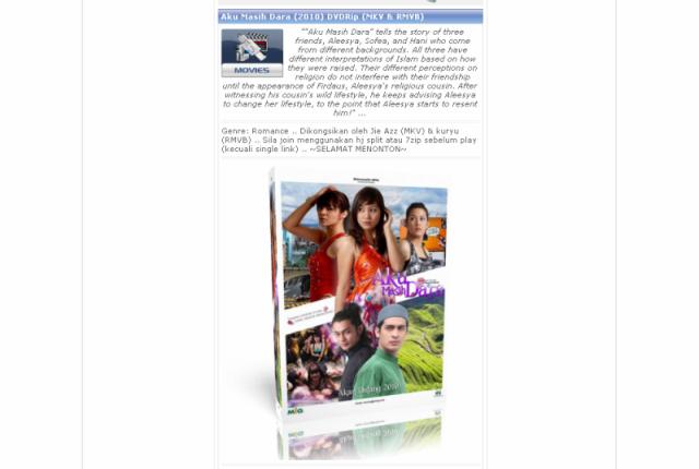 crg520 movie review aku masih dara Aku masih dara (2010) - movieplugdownloadcom sebuah situs yang membahas film atau movie mulai dari film lama sampai film terbaru macam-macam jenis dan genre movie semua ada di sini selain itu tersedia juga link untuk download film secara gratis selamat mendownload film terbaru kesukaan anda.