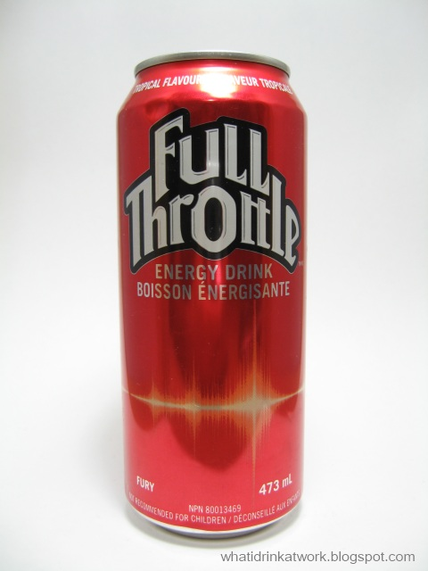 Full Throttle Fury Energy Drink