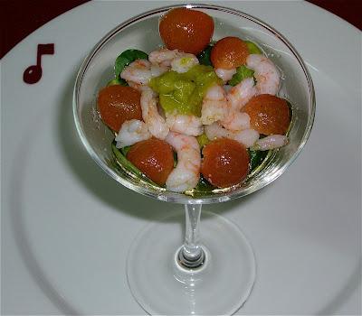 Kabanova comedor coctel de camarones y aguacate - Coctel de marisco con aguacate ...