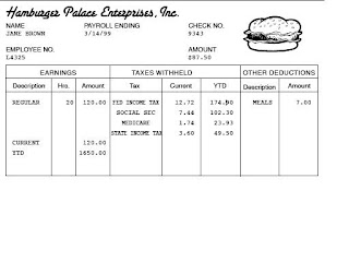 Pay Stub Template Word Document. 6+ Pay Stub Template Word ...
