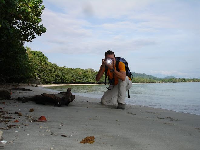 Autofoto arran de mar (Cahuita, Costa Rica)