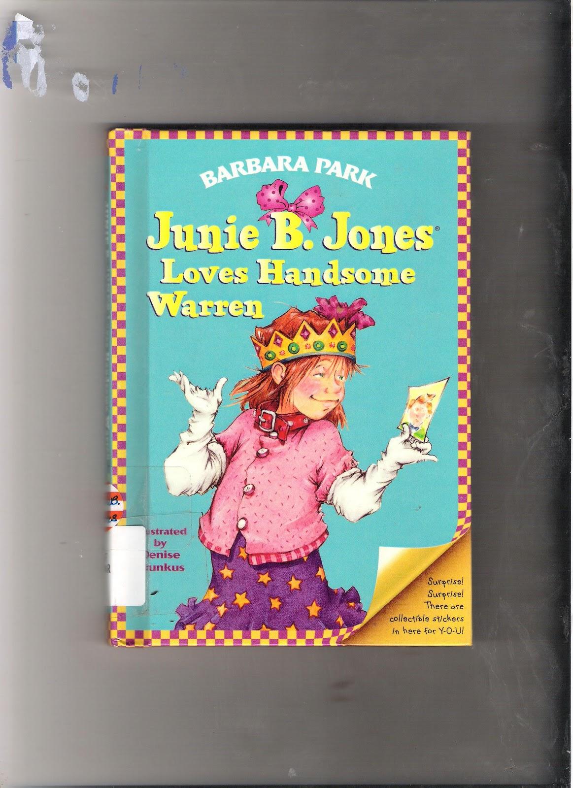 Cardo School: Reading Time : Junie B. Jones Book