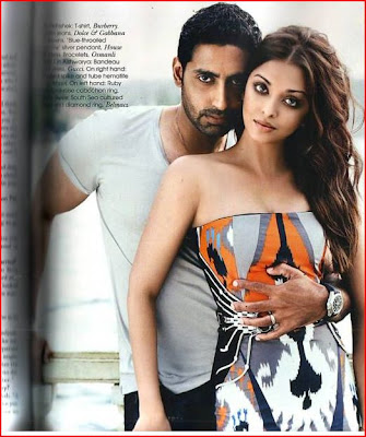 Aishwarya Rai and Abhishek Bachchan Vogue Magazine photo gallery