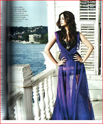 Aishwarya Rai featured on Vogue Magazine