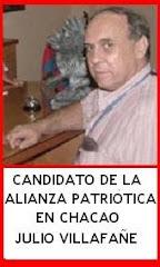 Candidato a la Alcaldía de Chacao Por la Alianza de Partidos, Movimientos Sociales y Culturales