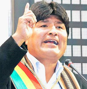 DESTAQUE - EVO MORALES