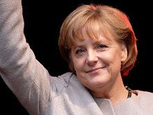 ANGELA MERKL: EU ERA FELIZ...