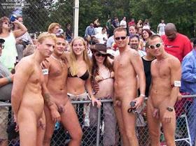 Contest public nude Brazil's finest