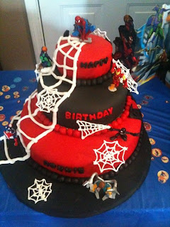 Cakes by Jessica: Ronnie s Spiderman cake!!