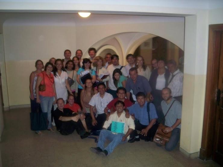 PROFESORES EN LA UNIVERSIDAD DE CORDOBA CURSANDO MAESTRIA