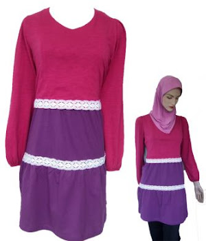 AM21B LILAC/PURPLE (XS-XL) - NURSING BLOUSE