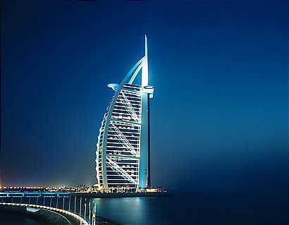 Rascacielos Y Edificios Modernos Burj Al Arab El Mejor Hotel Del Mundo
