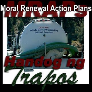 GMA's MRAPs handog ng trapos