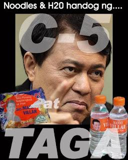 Manny Villar C-5 & Taga