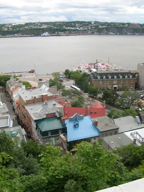 Quebec from on high
