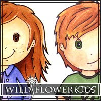 Wild Flower Patch Digi Stamps