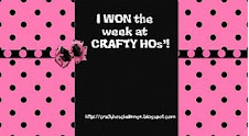 Winner Crafty Ho's Challenge