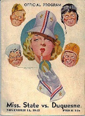1942 Duquesne-Mississippi St. Program