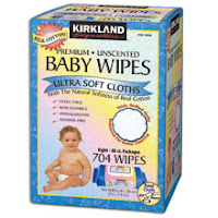 Product Review: Costco Kirkland Signature Premium Baby Wipes 1