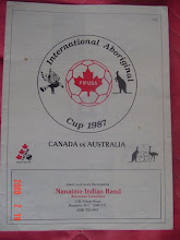 International Aboriginal Cup 1987 Canada vs Australia