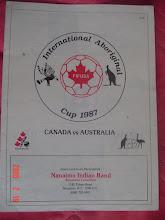 International Aboriginal Cup 1987 Canada vs Australia