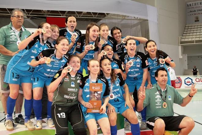 FIFA Women Futsal in Brazil UNOCHAPECO JASC CHAMPIONS 2010
