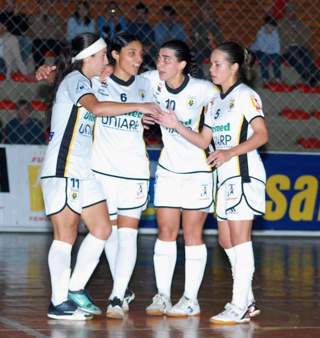 Kidermann Hotel versus Nilo Tozzo Distribuidor / Unochapeco  are in the Liga Nacional Futsal final
