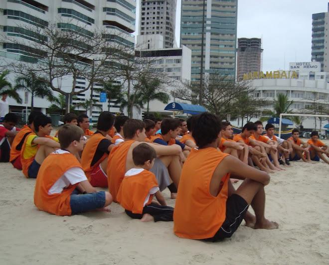 Balneario Camboriu  FIFA Beach Soccer programa  Marambaia Hotel Beach