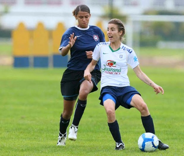 FIFA Women Soccer Talent At the Age age of 17teen CBF Gaucha  Renata Adamatti