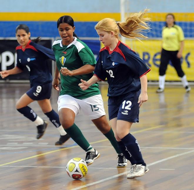 Women futsal In Brazil Copa Feminina de selecoes estaduais 2010