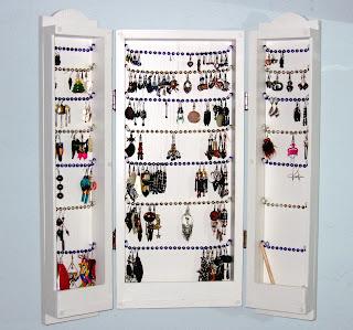 My Earring Cabinet