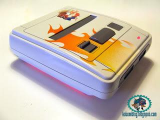 -= CUSTOM SUPER NES  =- Flamario02
