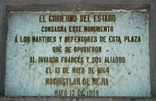 Homenaje a los Martires de Nochistlan
