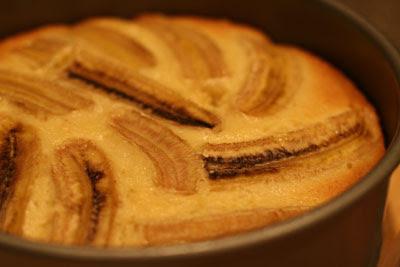Bolo de Banana (Banana Cake)