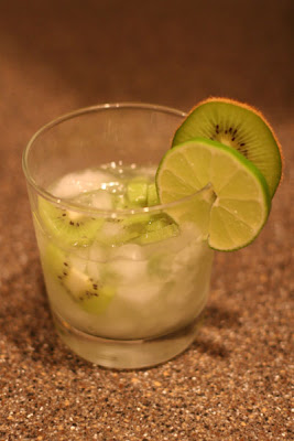 Caipiroska de Kiwi