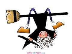 Uma bruxa engraçada