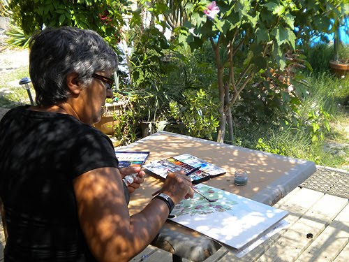 Atelier en plein air: aquarelle