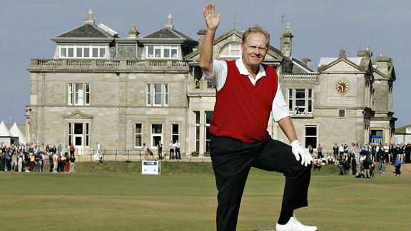 Golfistas en la historia