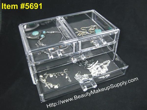 Plexiglass Makeup Storage Cases