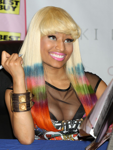 nicki minaj new cd cover. hair makeup Nicki Minaj Pink