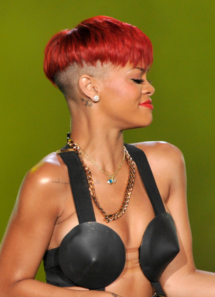 rihanna red hair now. Rihanna Red Hair Images.