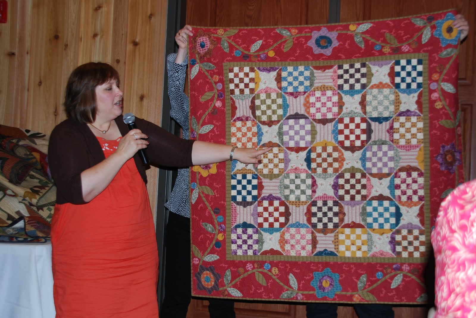 Needles And Friends Quilt Guild Kim Diehl S Trunk Show