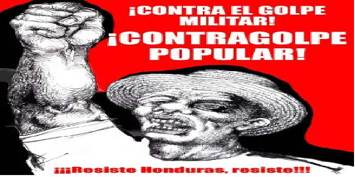 Contra el Golpe de Estado en Honduras