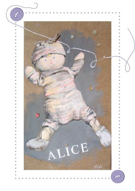 la  poupée d'Alice