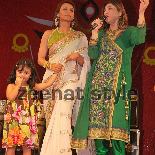 Alka Yagnik and Rani At Dasera Event
